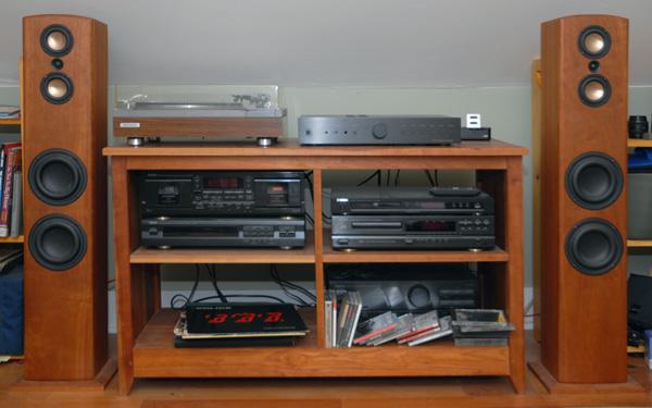Bon Tv Stereo Cabinet
