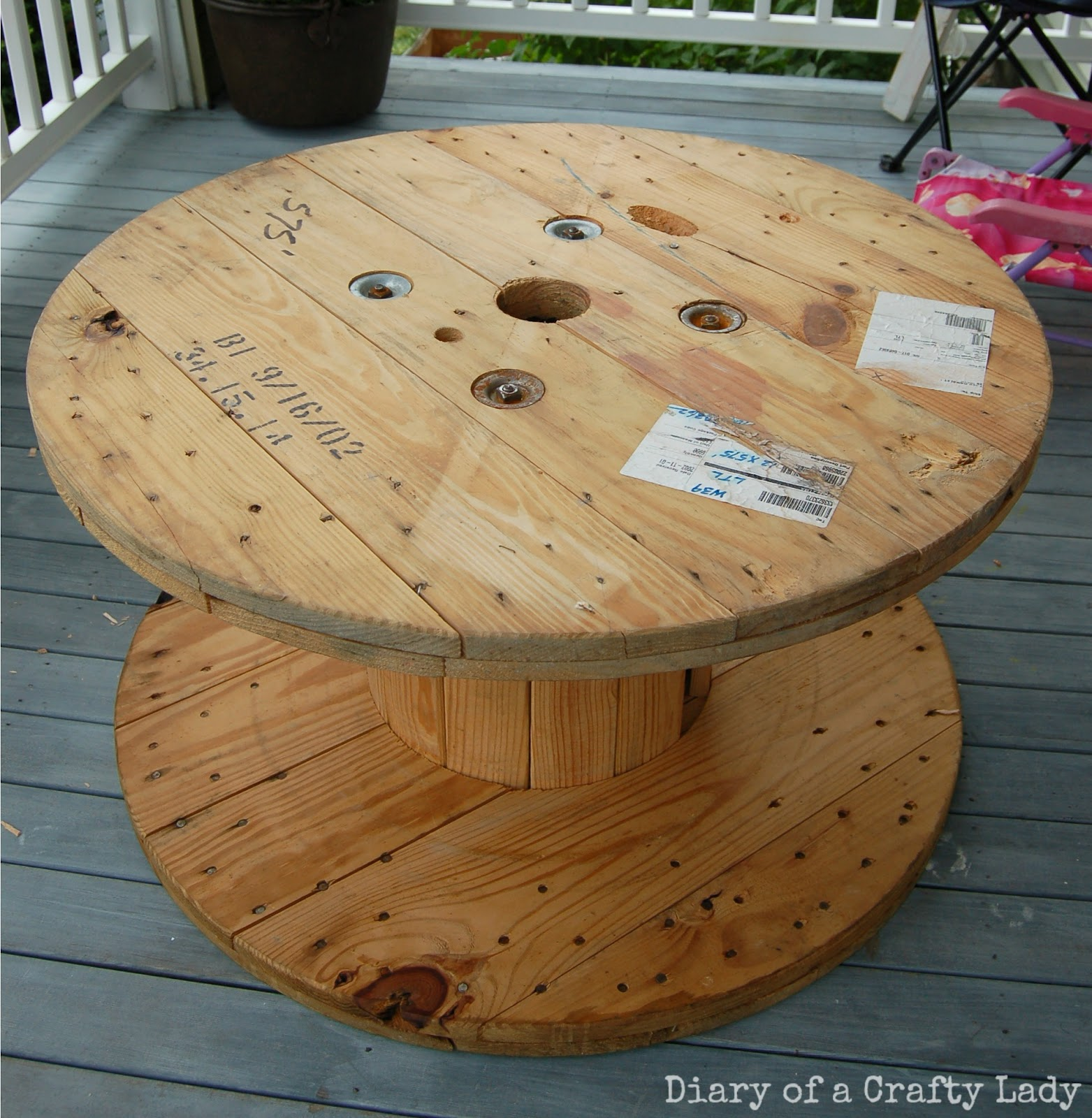 How To Recycle Construction Wood Spool In Santa Clara And San Mateo